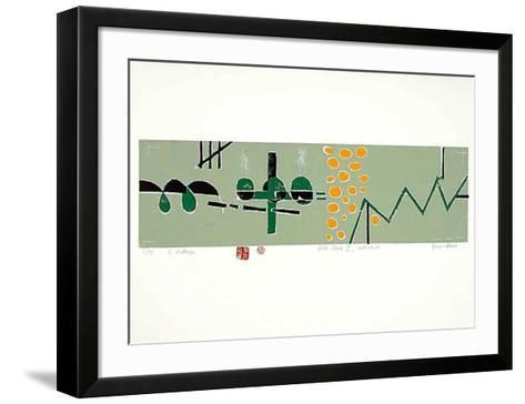Flick Flack II-Bruno Haas-Framed Art Print