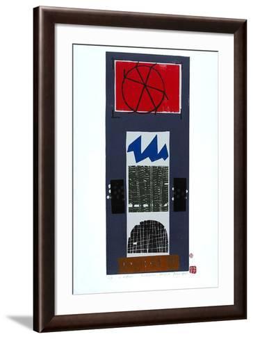 Fensterplatz-Bruno Haas-Framed Art Print