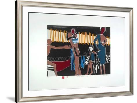 Dialog schafft Lösungen-Bruno Haas-Framed Art Print