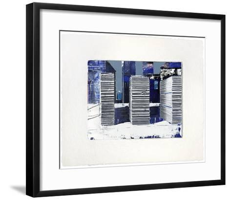 Metropole-Thomas Kleemann-Framed Art Print