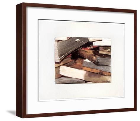 Ohne Titel-Thomas Kleemann-Framed Art Print