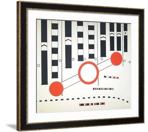 Umleitung II-Peter Br?ning-Framed Art Print