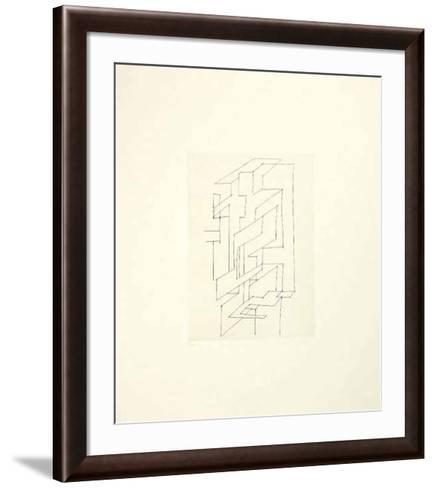 Gordes Gestalt-Victor Vasarely-Framed Art Print