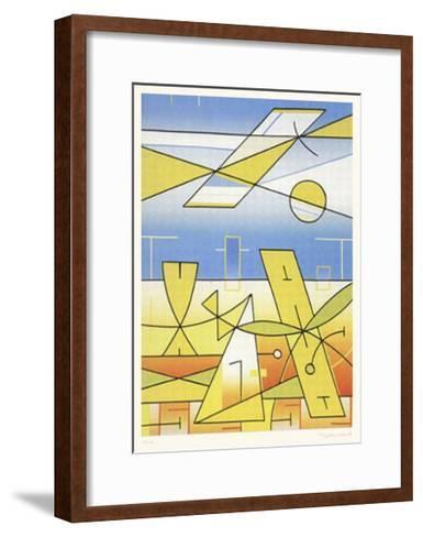 Landschaft 99-Ludwig Gebhard-Framed Art Print
