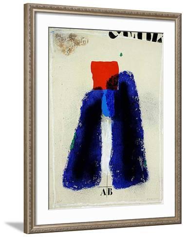 La Faille Bleue-James Coignard-Framed Art Print