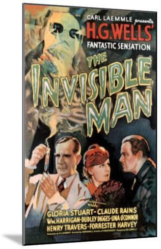 The Invisible Man Movie Claude Rains Gloria Stuart--Mounted Art Print