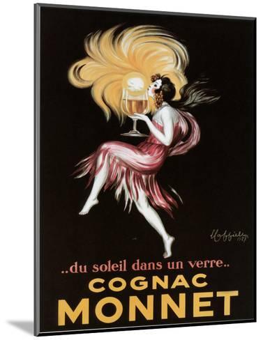 Cognac Monnet-Leonetto Cappiello-Mounted Art Print