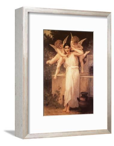 L'Innocence-William Adolphe Bouguereau-Framed Art Print