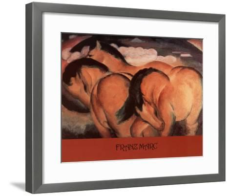Franz Marc (Horses) Art Poster Print--Framed Art Print