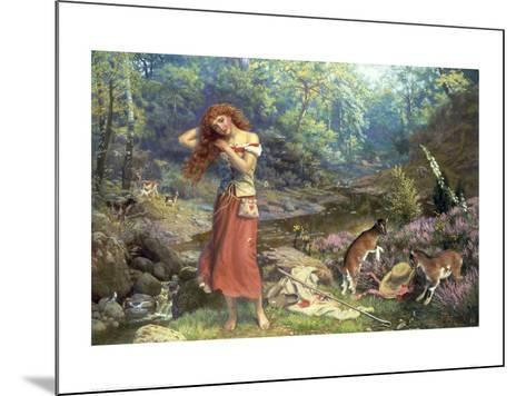 Audrey's Toilet, from As You Like It-Arthur Hughes-Mounted Giclee Print