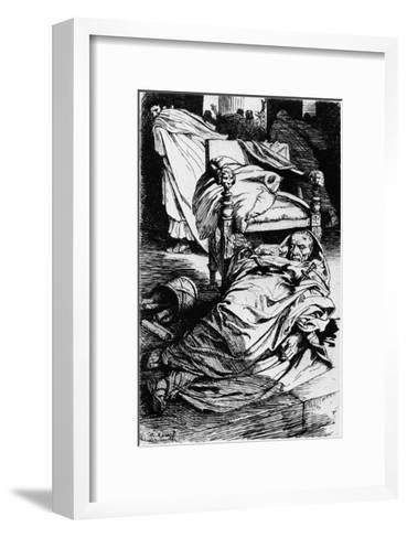 The Murder of Julius Caesar, 1924-Arthur Kampf-Framed Art Print