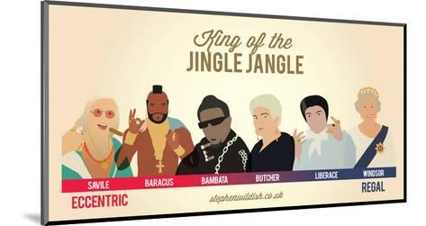 King of the Jingle Jangle-Stephen Wildish-Mounted Art Print