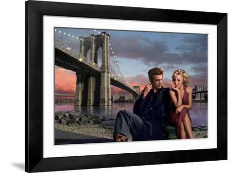 Brooklyn Nights-Chris Consani-Framed Art Print