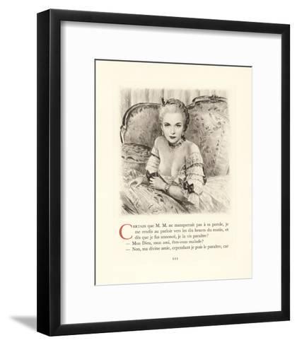 Madame-Gabriel Ferrier-Framed Art Print