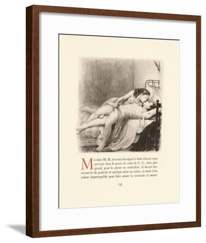 Secret Whispers-Gabriel Ferrier-Framed Art Print