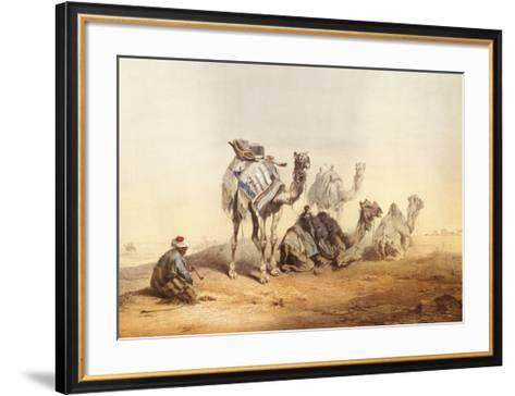 Middle East Views II-Jozsef Heicke-Framed Art Print