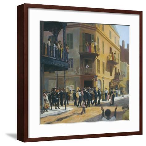 Willy's Goodbye-Charles Shaw-Framed Art Print