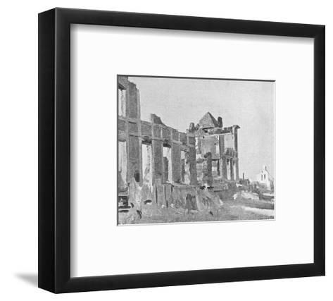The Billet of Warrior's-Sir Alfred Munnings-Framed Art Print