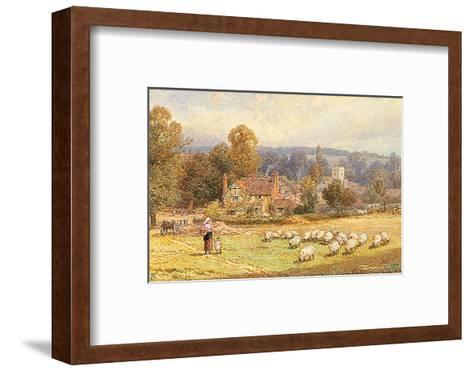 Pathway to the Water Meadows-Myles Birkett Foster-Framed Art Print