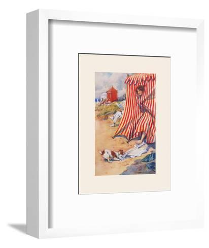 Help!-Percy Hickling-Framed Art Print