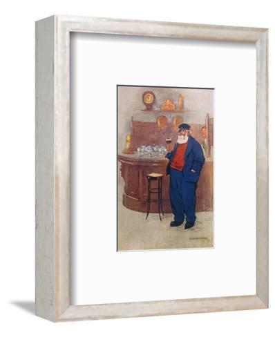 Captain Coe's Finals-William Owen-Framed Art Print