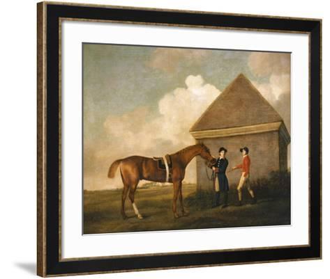 Eclipse, A Dark Chestnut-George Stubbs-Framed Art Print