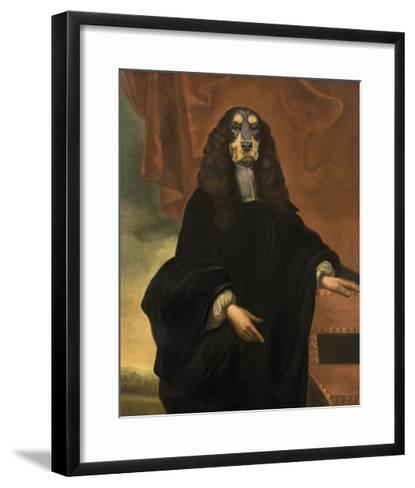 Moliere-Thierry Poncelet-Framed Art Print