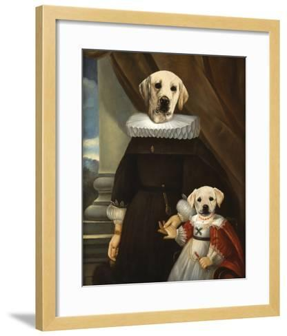 Mother and Child-Thierry Poncelet-Framed Art Print