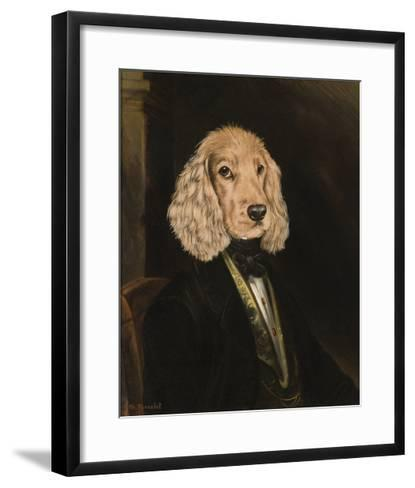 The Bard-Thierry Poncelet-Framed Art Print