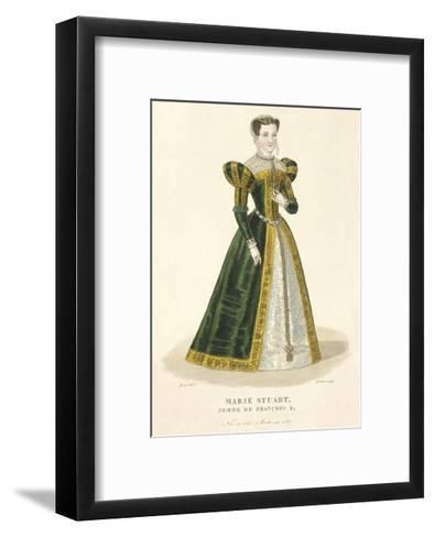 Mary Stuart-Louis-Marie Lante-Framed Art Print