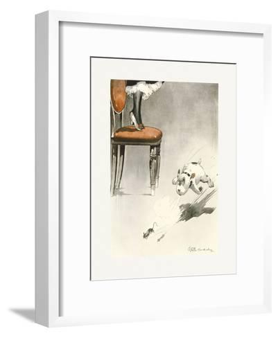 Flight of Intruder-George Studdy-Framed Art Print