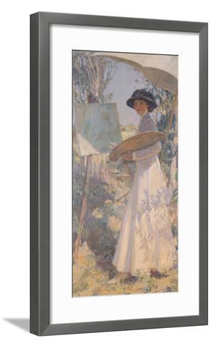 Lady Lavery-Sir John Lavery-Framed Art Print