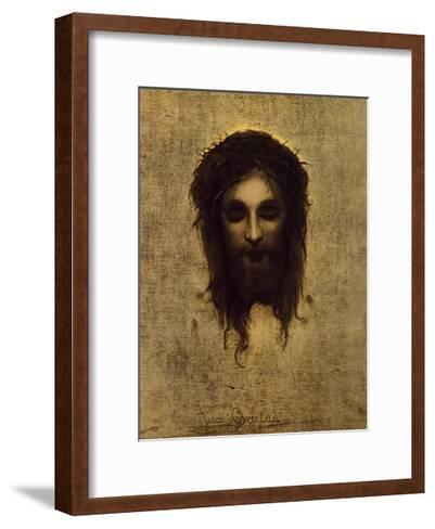 St. Veronica's Handkerchief-Gabriel Cornelius Ritter von Max-Framed Art Print