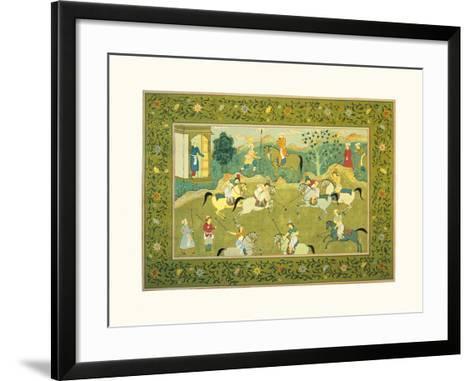 The Polo Match III--Framed Art Print