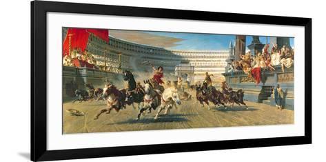 The Chariot Race, Detail-Alexander Von Wagner-Framed Art Print