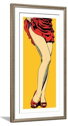 Long Legs-Deborah Azzopardi-Framed Art Print