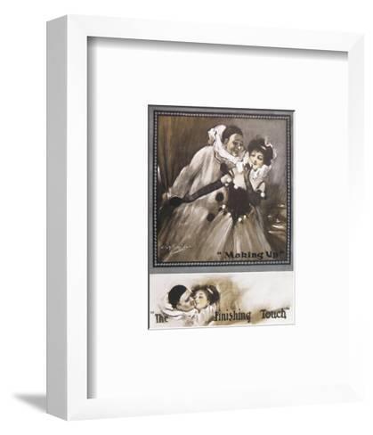 Making Up, the Finishing Touch-C. L. Barnibal-Framed Art Print
