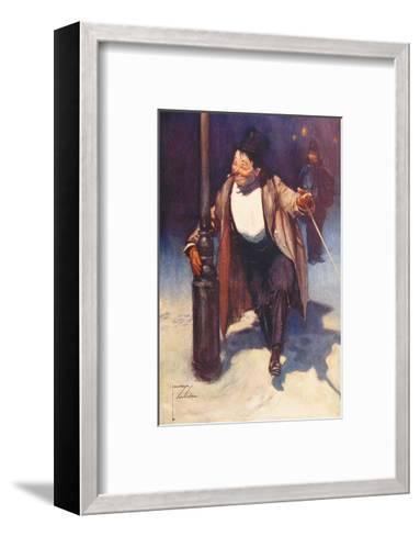 Our Dance, I think-Lawson Wood-Framed Art Print