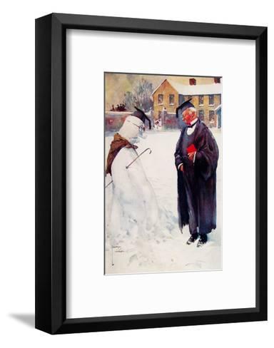 Portrait Artist-Lawson Wood-Framed Art Print