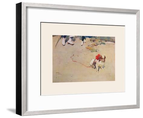 The Chaperone-Lawson Wood-Framed Art Print