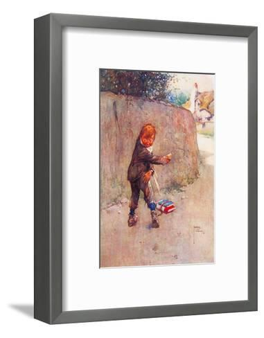 The Price of a Pear-Lawson Wood-Framed Art Print