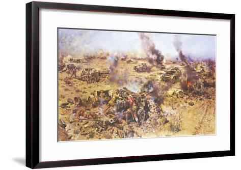 The Battle of Knightsbridge, 1942-Terence Cuneo-Framed Art Print