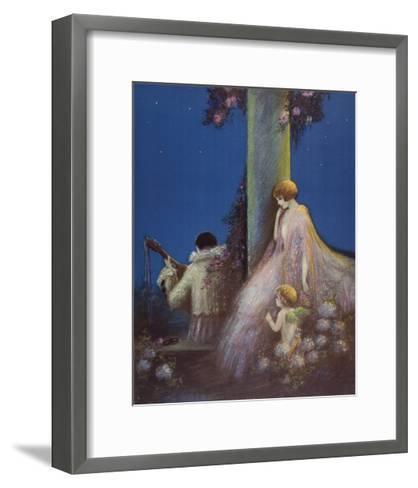 Pensive Twilight-Marygold-Framed Art Print