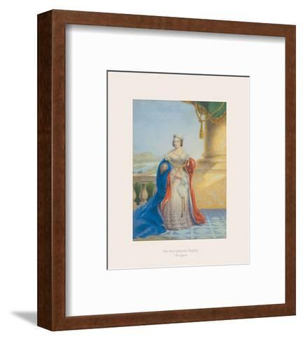 Her Most Gracious Majesty the Queen-The Victorian Collection-Framed Art Print