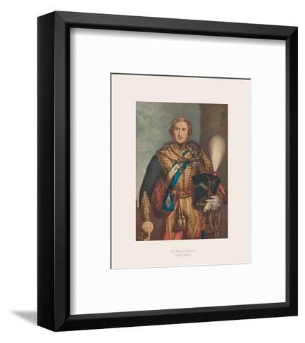 His Royal Highness Prince Albert I-The Victorian Collection-Framed Art Print