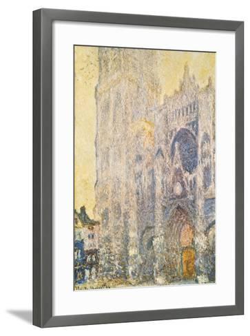 Rouen Cathedral-Claude Monet-Framed Art Print