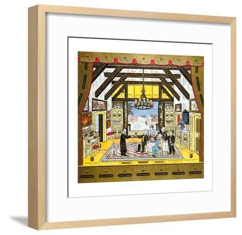 L'Amico Fritz-Valentino Monticello-Framed Art Print