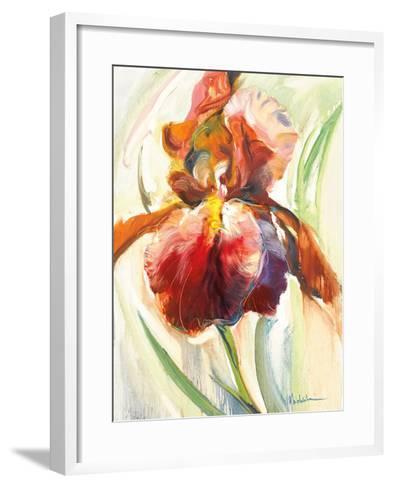 Colors of Iris II-Maria Zielinksa-Framed Art Print