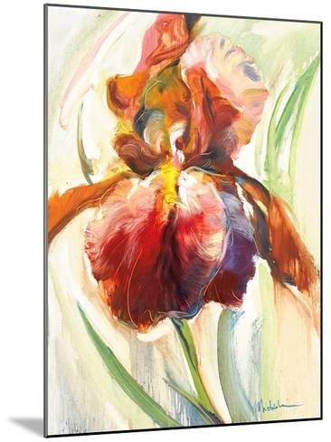 Colors of Iris II-Maria Zielinksa-Mounted Art Print