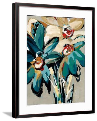 Blooming Blue I-Angela Maritz-Framed Art Print